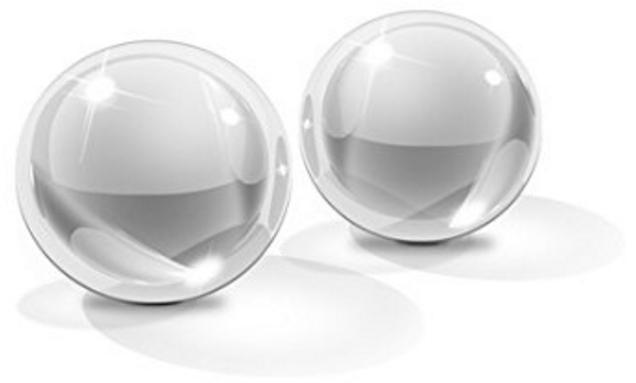 vraies boules de Geisha en verre Icicles Numéro 41